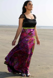 Nithya Menon Sexy Pictures At Beach 1