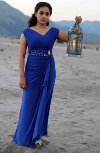 Nithya Menon Sexy Pictures At Beach 2