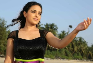 Nithya Menon Sexy Pictures At Beach 4