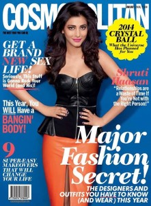 Shruti Hassan Cosmopolitan Magazine January 2014 Photos 2