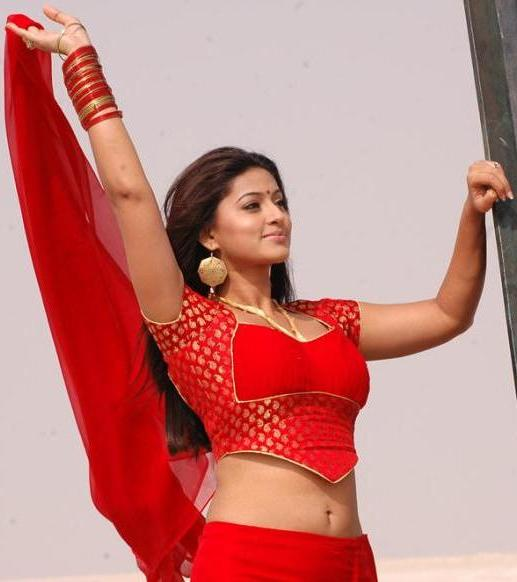 Sneha Hot Navel Photos In Mondi Mogudu Movie