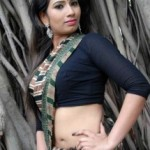Actress Sanjana Naidu Hot Saree Photos
