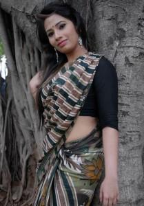 Sanjana Naidu Saree Pics