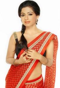Aishwarya Menon Hot Saree Images