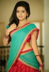Aishwarya Menon Photoshoot Photos in Half Saree