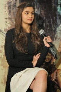Alia Bhatt Latest Pictures At Highway Movie Promotion in London