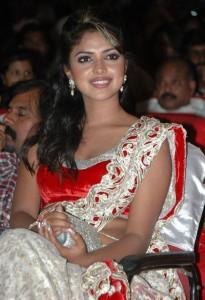 Amala Paul Hot Saree Pictures At Vettai Movie Audio Launch