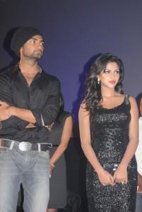 Amala Paul Spicy Stills in Black Dress