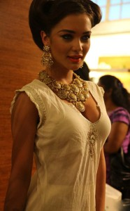 Amy Jackson At Wild Garden Tea Party Fashion Show Photos