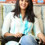 Anushka Photos At Blue Cross Pet Carnival Press Meet