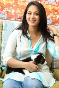 Anushka Cute Images At Blue Cross Pet Carnival Press Meet