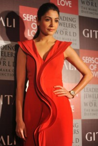 Anushka Sharma Photos At Gitanjali Jewels Season of Love New Collection Launch