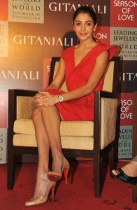Anushka Sharma At Gitanjali Season of Love Collection Launch Photos 10