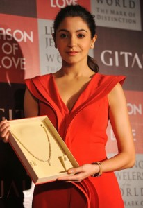 Anushka Sharma At Gitanjali Season of Love Collection Launch Photos 7