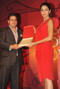 Anushka Sharma At Gitanjali Season of Love Collection Launch Photos 8