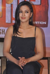 Catherine Tresa Latest Sexy Images in Black Dress