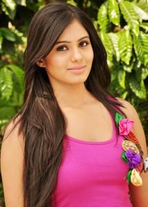 Deepa Sannidhi Cute Pics in Pink Dress