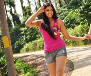 Deepa Sannidhi in Jeans Short