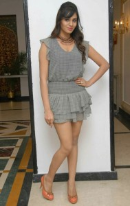 Deepa Sannidhi Hot Thighs Show Photos At Endendu Ninagaagi Kannada Movie Audio Release Function