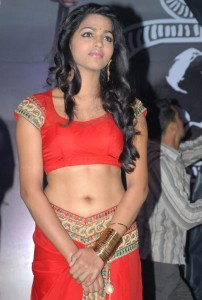 Dhansika Navel Photos At Ekaveera Movie Audio Launch 5