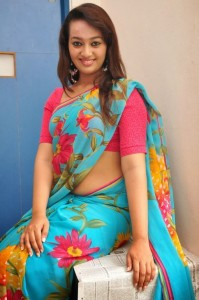 Ester Noronha Sexy Pictures in Saree