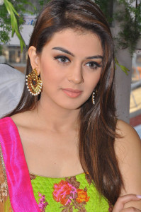 Hansika Motwani At Durga Telugu Movie Launch Images