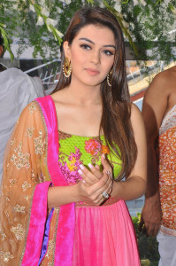 Hansika Motwani Photos At Durga Movie Launch 7