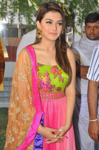 Hansika Motwani Photos At Durga Movie Launch 8
