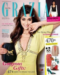 Ileana Photoshoot For Grazia India Magazine Feb 2014