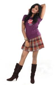 Karthika Nair Hot Photoshoot For Purampokku Movie