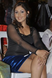 Madhu Shalini Hot Pics At Park Telugu Movie Audio Launch Function