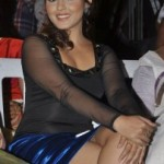 Madhu Shalini Thighs Show Photos At Park Movie Audio Launch