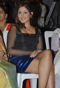 Madhu Shalini Thighs Show Photos At Park Movie Audio Launch 10