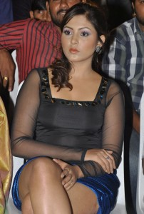 Madhu Shalini Thighs Show Photos At Park Movie Audio Launch 4