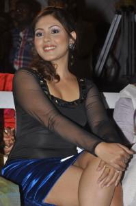 Madhu Shalini Thighs Show Photos At Park Movie Audio Launch 5