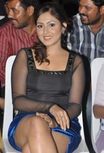 Madhu Shalini Thighs Show Photos At Park Movie Audio Launch 6