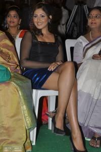 Madhu Shalini Thighs Show Photos At Park Movie Audio Launch 8