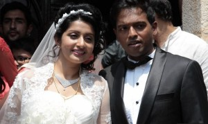 South Indina Actress Meera Jasmine Wedding Photos Gallery