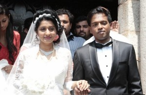 Meera Jasmine Marriage Picturues