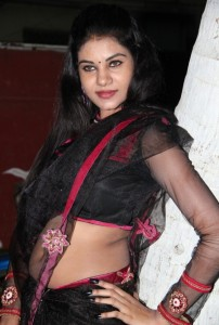 Nivisha Hot Navel Photos At Jaamai Movie Audio Launch