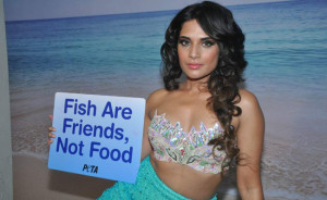 Bollywood Actress Richa Chadda Latest Photoshoot For PETA