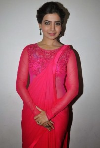 Samantha Cute Images At Autonagar Surya Movie Audio Launch Event