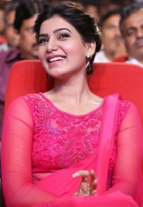 Samantha At Autonagar Surya Movie Audio Launch Photos 10