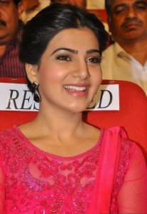 Samantha At Autonagar Surya Movie Audio Launch Photos 13
