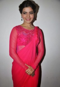 Samantha At Autonagar Surya Movie Audio Release Function Pictures