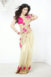 Shruti Hassan Hot Saree Photoshoot Photos For Kalanjali Ad