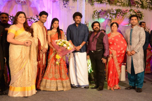 Simbu Sister llakkiya Wedding Reception Photos Gallery 10