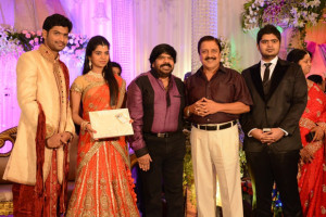 Simbu Sister llakkiya Wedding Reception Photos Gallery 13