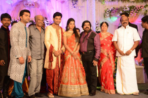 Simbu Sister llakkiya Wedding Reception Photos Gallery 14