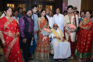 Simbu Sister llakkiya Wedding Reception Photos Gallery 6
